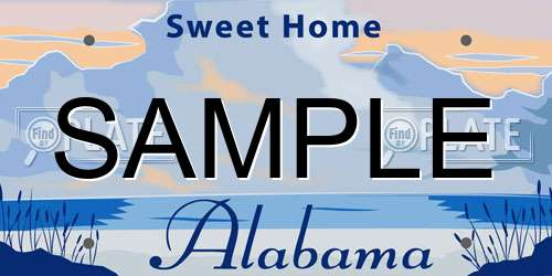 Free Alabama License Plate Lookup