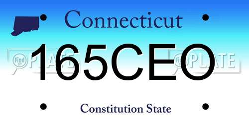 free license plate lookup in connecticut