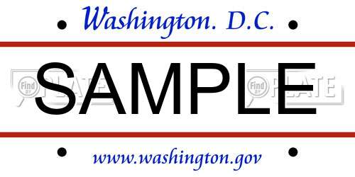 Look Up Washington D C  (District of Columbia) License