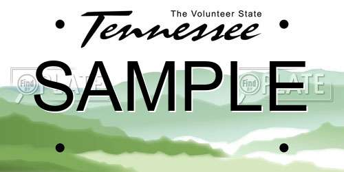 Look Up License Plates in Tennessee for Free