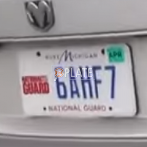 Reports For Plate Number 6AHF7 In Michigan, United States on